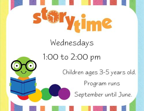 Storytime at the Library